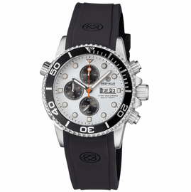 DIVER 1000 40MM QUARTZ CHRONOGRAPH  DIVER BLACK BEZEL -WHITE DIAL- BLACK SUBDIALS