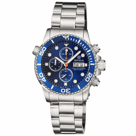 DIVER 1000 40MM QUARTZ CHRONOGRAPH  DIVER DARK BLUE BEZEL DARK BLUE  DIAL BRACELET