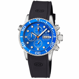 DIVER 1000 QUARTZ CHRONOGRAPH  DIVER LIGHT BLUE BEZEL –LIGHT BLUE  DIAL