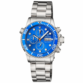 DIVER 1000 40MM QUARTZ CHRONOGRAPH  DIVER LIGHT BLUE BEZEL –LIGHT BLUE  DIAL BRACELET