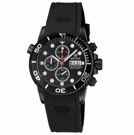 DIVER 1000 40MM QUARTZ CHRONOGRAPH PVD BLACK CASE  DIVER BLACK  BEZEL – BLACK  DIAL