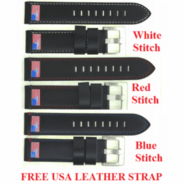 FREE LEATHER STRAP JULY 4 2021 ONLY WITH MASTER 1000 USA WATCH