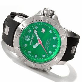 Green Juggernaut Quartz 1000m Diver Silicon