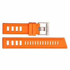 HYDRO 91 NATURAL RUBBER STRAP 22MM ORANGE
