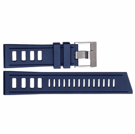 HYDRO 91 NATURAL RUBBER STRAP 24MM BLUE