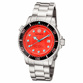 JUGGERNAUT IV SWISS AUTOMATIC – DIVER RED BRACELET