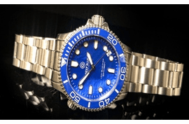 "LADIES ""LIZZY BLUE"" DIVE WATCH 36MM"