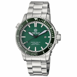 MASTER 1000 2.5 -  60 HOUR POWER RESERVE AUTOMATIC � CERAMIC BEZEL DIVER GREEN BEZEL/GREEN DIAL