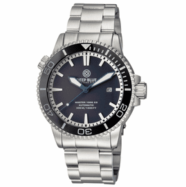 MASTER 1000 2.5 -  60 HOUR POWER RESERVE AUTOMATIC CERAMIC BEZEL DIVER BLACK /BLUE