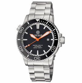 MASTER 1000 2.5 -  60 HOUR POWER RESERVE AUTOMATIC � CERAMIC BEZEL DIVER BLACK/ORANGE