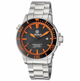 MASTER 1000 2.5 -  60 HOUR POWER RESERVE AUTOMATIC  CERAMIC BEZEL DIVER BLACK/ORANGE-BLACK/ORANGE