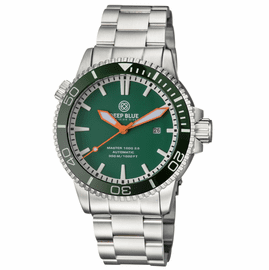 MASTER 1000 2.5 -  60 HOUR POWER RESERVE AUTOMATIC -  CERAMIC BEZEL DIVER GREEN BEZEL/GREEN DIAL