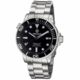 MASTER 1000 AUTOMATIC � DIVER -ALL BLACK BRACELET