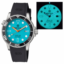 MASTER 1000 AUTOMATIC DIVER BLACK BEZEL  - BLUE FULL LUMINOUS DIAL