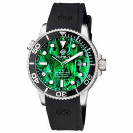 MASTER 1000 AUTOMATIC DIVER BLACK BEZEL � GREEN ABALONE SHELL DIAL