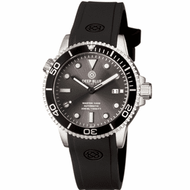 MASTER 1000 AUTOMATIC DIVER BLACK BEZEL -GREY SUNRAY  DIAL