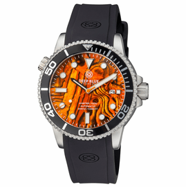 MASTER 1000 AUTOMATIC DIVER BLACK BEZEL � ORANGE ABALONE SHELL DIAL