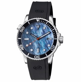 MASTER 1000 AUTOMATIC DIVER BLACK BEZEL -PLATINUM MOTHER OF PEARL  DIAL