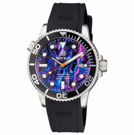 MASTER 1000 AUTOMATIC DIVER BLACK BEZEL � PURPLE ABALONE SHELL DIAL