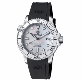 MASTER 1000 AUTOMATIC DIVER SILVER BEZEL -WHITE MOTHER OF PEARL  DIAL
