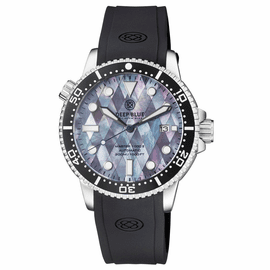 MASTER 1000 II 44MM AUTOMATIC DIVER BLACK CERAMIC BEZEL – DIAMOND PATTERN MOTHER OF PEARL  DIAL STRAP