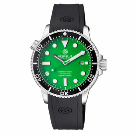 MASTER  1000 II  44MM  AUTOMATIC DIVER BLACK CERAMIC BEZEL -GREEN MATTE DIAL