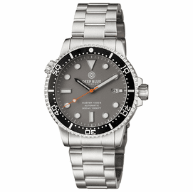 MASTER  1000 II  44MM  AUTOMATIC DIVER BLACK CERAMIC BEZEL -GREY MATTE DIAL