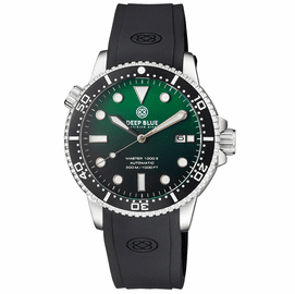 MASTER 1000 II 44MM AUTOMATIC DIVER BLACK CERAMIC BEZEL MATTE GREEN DIAL STRAP