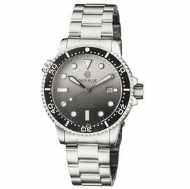 MASTER 1000 II 44MM AUTOMATIC DIVER BLACK CERAMIC BEZEL MATTE WHITE BLACK DIAL BRACELET