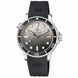 MASTER 1000 II 44MM AUTOMATIC DIVER BLACK CERAMIC BEZEL MATTE WHITE BLACK DIAL STRAP