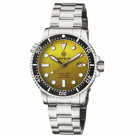 MASTER 1000 II 44MM AUTOMATIC DIVER BLACK CERAMIC BEZEL MATTE YELLOW DIAL BRACELET