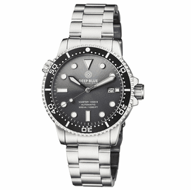MASTER 1000 II 44MM AUTOMATIC DIVER BLACK CERAMIC BEZEL SUNRAY GREY DIAL  BRACELET