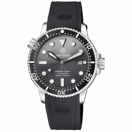 MASTER 1000 II 44MM AUTOMATIC DIVER BLACK CERAMIC BEZEL SUNRAY GREY DIAL  STRAP