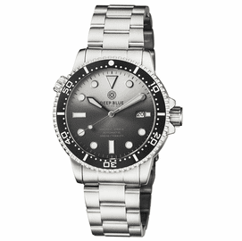 MASTER 1000 II 44MM AUTOMATIC DIVER BLACK CERAMIC BEZEL SUNRAY WHITE BLACK DIAL BRACELET