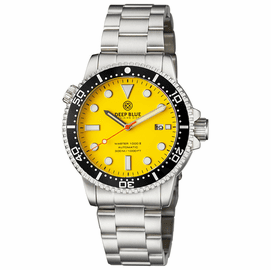 MASTER  1000 II  44MM  AUTOMATIC DIVER BLACK CERAMIC BEZEL -YELLOW MATTE DIAL