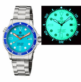 MASTER 1000 II 44MM AUTOMATIC DIVER BLUE CERAMIC BEZEL � BLUE FULL LUME DIAL BRACELET