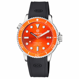 MASTER  1000 II  44MM  AUTOMATIC DIVER ORANGE CERAMIC BEZEL -ORANGE SUNRAY DIAL