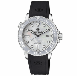 MASTER  1000 II  44MM  AUTOMATIC DIVER SILVER CERAMIC BEZEL -WHITE MOTHER OF PEARL DIAL