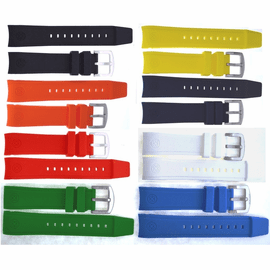 MASTER 1000/JUGGERNAUT/NATO DIVER /DEFENDER OEM FIT -REPLACEMENT SILICON STRAP