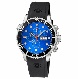 MASTER 1000 QUARTZ CHRONOGRAPH  DIVER BLACK BEZEL � LIGHT BLUE DIAL