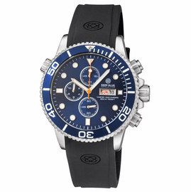 MASTER 1000 QUARTZ CHRONOGRAPH  DIVER DARK BLUE BEZEL  –  DARK BLUE DIAL