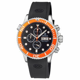 MASTER 1000 QUARTZ CHRONOGRAPH DIVER ORANGE BEZEL � BLACK DIAL
