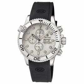MASTER 1000 QUARTZ CHRONOGRAPH DIVER SILVER BEZEL – WHITE MOTHER OF PEARL DIAL