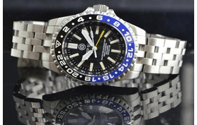 MASTER 2000 GMT DAYNIGHT   TRITIUM T-100 AUTOMATIC DIVER