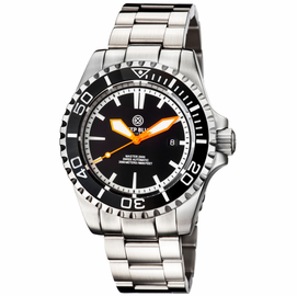 MASTER 2000 SWISS AUTOMATIC DIVER � BLACK-BLACK-ORANGE