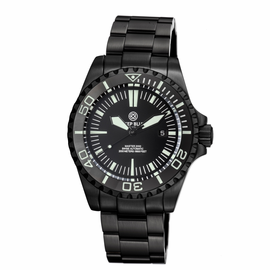MASTER 2000 SWISS AUTOMATIC DIVER –BLACK-BLACK-PVD BLACK CASE