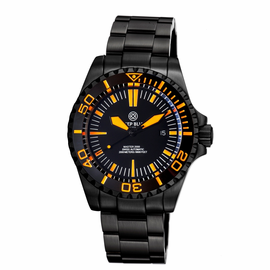 MASTER 2000 SWISS AUTOMATIC DIVER BLACK/ORANGE-BLACK/ORANGE-PVD BLACK CASE