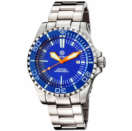 MASTER 2000 SWISS AUTOMATIC DIVER � BLUE-BLUE-ORANGE