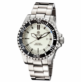 MASTER 2000 SWISS AUTOMATIC DIVER � WHITE-BLACK -FULL LUME DIAL