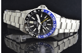 MASTER 500 42MM DAYNIGHT    TRITIUM T-100 GMT AUTOMATIC